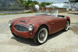1959 AUSTIN HEALEY 100-6,BN4  PROJECT. TEXAS CAR. OVERDRIVE