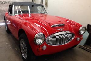 1967 AUSTIN HEALEY 3000 MK3 BJ-8 PH2. FRAME OFF, GROUND UP RESTO. NEEDS FINISH.