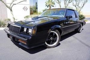 84 Buick Regal Grand National Custom Wheels Turbo Stereo Navigation Backup Cam