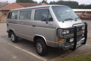 VW T25 Syncro Caravelle GL 1990  Photo