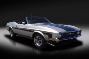 1971 Ford Mustang Convertible. Very Rare! Rotisserie Restoration. Show Car. WOW!