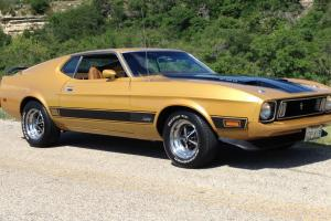 1973 Mustang Mach 1 351 Cleveland, Q Code Car, The last of the Cobra Jets