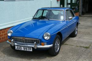 MGB GT 1976 TAHITI BLUE VERY GOOD CONDITION  Photo