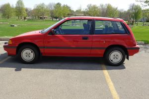 1986 HONDA CIVIC SI; 5 SPEED, 3 DOOR, 1500cc FI ENGINE, 57033 ACTUAL MILES
