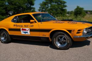1970 Ford Mustang Mach 1 428 Cobra Jet Michigan International Speedway Pace Car