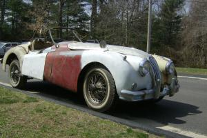 1954 Jaguar XK140MC Roadster With Overdrive Photo
