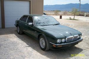 1989 Jaguar xj6 Green with tan interior,4 door  Nice!