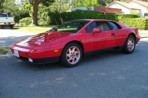 Collector Quality  Lotus Turbo Esprit   25,000 Original Miles Major Service Done Photo