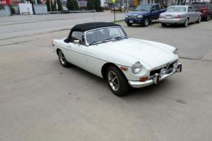 1974 MGB Roadster with overdrive--last of the classic small bumper cars!