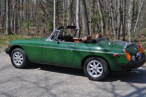 1979 MG MGB MK IV Convertible 2-Door 1.8L overdrive