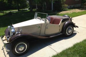 MG-TD Convertible Photo