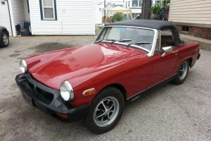 "1978 mg midget "" rustfree"" 30k  documented miles,  factory paint Photo"