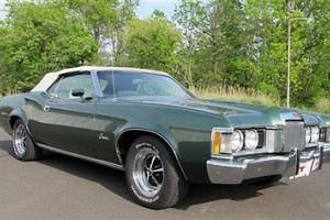 73 Mercury Cougar Convt a/c p/w rust free Mustang based classic by Ford