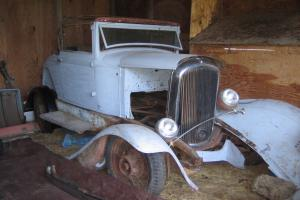 1932 Plymouth  Sport Convertible PROJECT CAR
