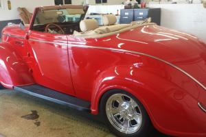 1939 plymouth deluxe Convertible Hot rod resto mod Beautiful