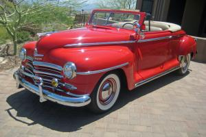 1948 Plymouth Special Deluxe Convertible P15 Frame Off Restoration 1946 1947
