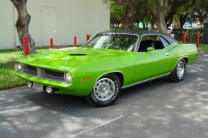 CALIFORNIA BUILT AND DRIVEN  /  COOL OPTIONS AND COLOR