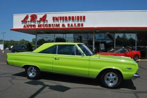 PLYMOUTH SATELLITE, SUPER SHAPE, HEAD TURNER, 440, NO RESERVE RUNS PERFECT.