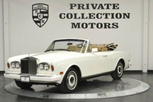 1987 Rolls-Royce Corniche Convertible Low Miles Pr Photo