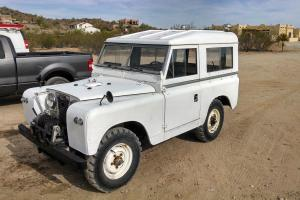 1966 Land rover series 2A  // defender  IIA with PTO winch