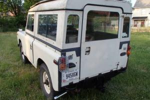 land rover series 3 model 88 4x4 Photo