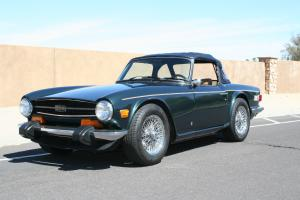 Beautiful 1974 Triumph TR6 Convertible! Excellent driver Photo