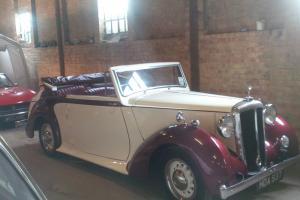 RARE 1950 DAIMLER DB18 DROPHEAD COUPE - AS DRIVEN BY SIR WINSTON CHURCHILL..