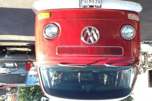 1969. Red volkswagon