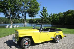 1951 Jeep Willys Jeepster Convertible