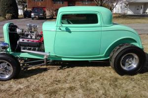 32 FORD DUECE COUPE & CHOPPER TRADES  WELCOME WILLYS STREETROD PROSTREET HOTROD