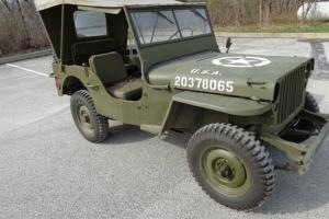 1942-43 Willy's Jeep Completely Restored