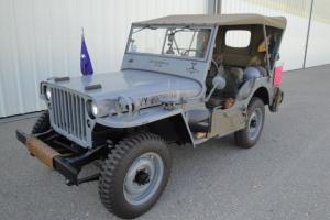 1945 WILLY'S MB 1/4 TON MILITARY JEEP - US NAVY - OLDER RESTORATION - ORIGINAL !