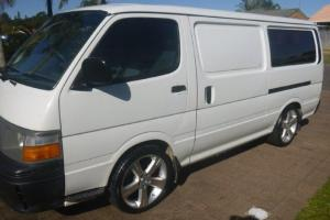 Toyota Hiace 1996 4D Long VAN 5 SP Manual 2 4L Petrol LPG in Port Macquarie, NSW