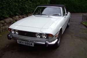 1973 TRIUMPH STAG V8 AUTO EXCELLENT CONDITION 1Year, MOT TAX 6 Month's