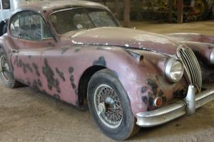 JAGUAR XK140 3.4 `SE` FHC 1956 - C-TYPE ENGINE FITTED