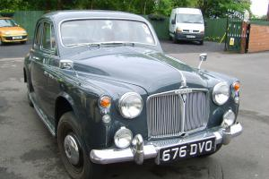 1959 ROVER P4 80 4 DOOR SALOON, HISTORIC VEHICLE, TAX AND MOT EXEMPT Photo