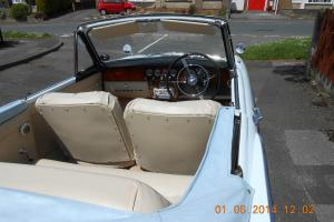 SUNBEAM RAPIER series 3 CONVERTIBLE TWO TONE BLUE full refurb just competed