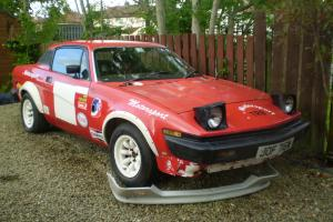 Triumph tr8 rally car