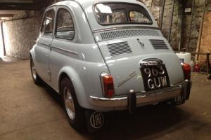 fiat 500 D nuova 1963 one owner