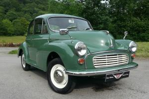 1970 Morris Minor 2 Door saloon, very clean and tidy inside and out,