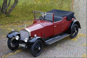 1923 Rolls Royce 20hp 3/4 Drop Head Coupé. 4 wheel brakes.