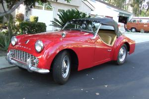 1960 TR3A incredible restoration to very high standard driver quality NO RESERVE
