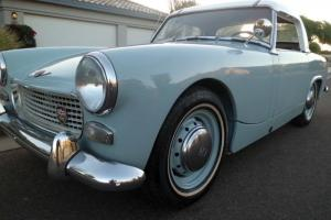 1962 Austin Healey Sprite MK II CA Original Very Rare Early Production Roadster