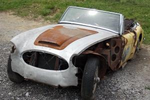 1964 AUSTIN HEALEY BJ7, CLEAR TITLE, GLOBAL DELIVERY, NICE CAR FOR RESTORATION