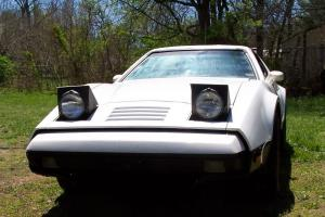 1975 Bricklin SV1 White In Storage 25 Years Does Not Run