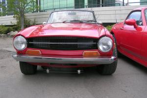 triumph tr6 Chevy V6  hot rod