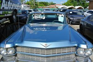 1964 Cadillac DeVille Base 4-Door 4-Window 7.0L Style 6339 A/C All Original