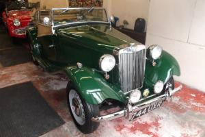 1951 MG TD Manual Roadster Green  Photo