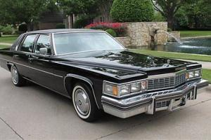 1977 Cadillac Sedan Deville Only 1 475 Miles Museum Piece Stunning New Photo
