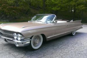 Gorgeous, Rare 61 Cadillac Convertible, 84k, Like New, Not 1959 1960 1962 1963